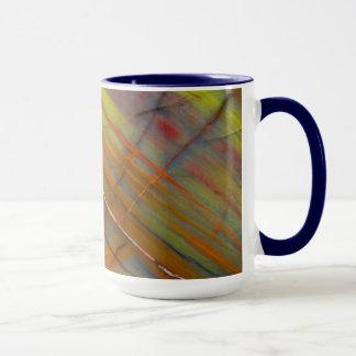 Yellow Petrified Wood Mug