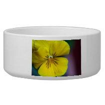 Yellow Petunia Flower Bowl