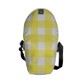 Yellow Picnic Pattern Messenger Bag