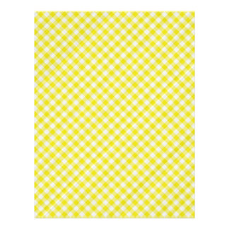 yellow picnic table cloth flyer