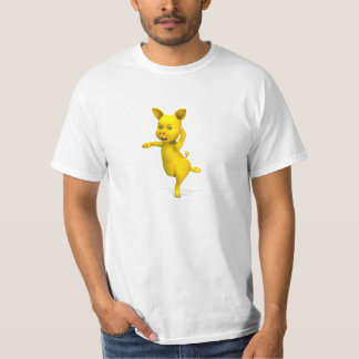 Yellow Pig Attitude T-Shirt