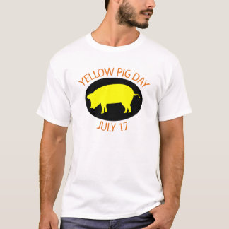 Yellow Pig Day T-Shirt