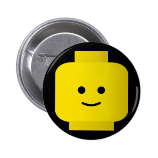 Yellow Pinback Button