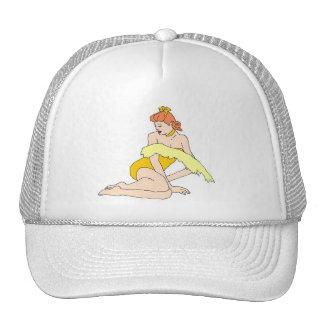 yellow pine up trucker hat