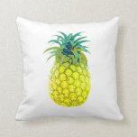Yellow Pineapple Cushion Throw Pillows
