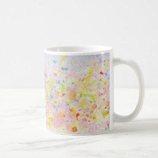 Yellow & Pink Dots - Mug