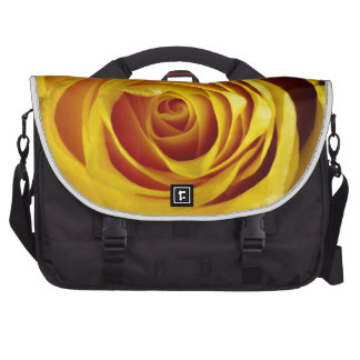 Yellow pink commuter bag