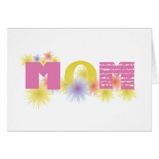 Yellow & Pink Mom Cards