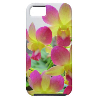 Yellow Pink Orchids iPhone SE/5/5s Case