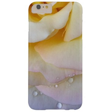Yellow pink petals barely there iPhone 6 plus case