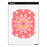 Yellow Pink Romance mandala Skins For iPad 2