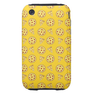 Yellow pizza pattern tough iPhone 3 covers
