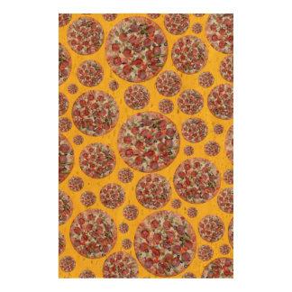 Yellow pizza pie queork photo prints