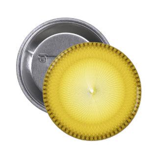 Yellow Plafond Pinback Buttons