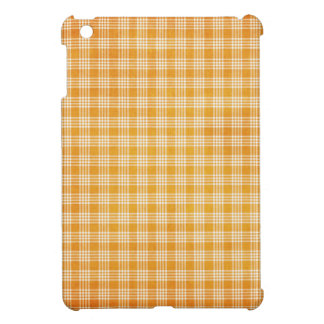 Yellow Plaid Cover For The iPad Mini