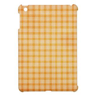 Yellow Plaid Cover For The iPad Mini