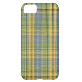 yellow plaid iPhone 5C cover
