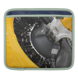 Yellow plane motor Sleeve iPad Sleeve