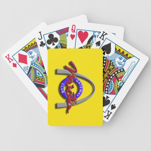 (Yellow) Playing Cards