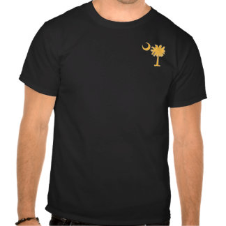 Yellow Pocket Palmetto T Shirts