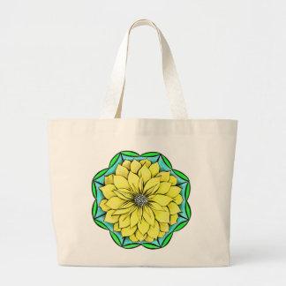YELLOW POINSETTIA Tote Bag