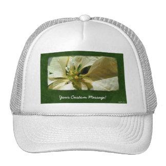 Yellow Poinsettias 1 Hats