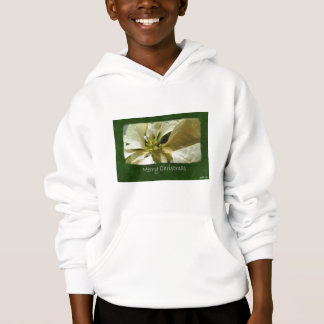 Yellow Poinsettias 1 - Merry Christmas Hoodie