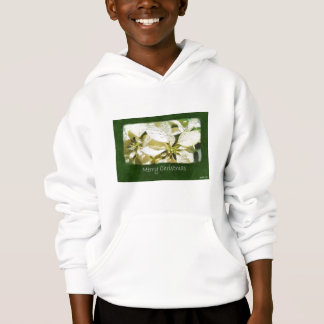 Yellow Poinsettias 2 - Merry Christmas Hoodie