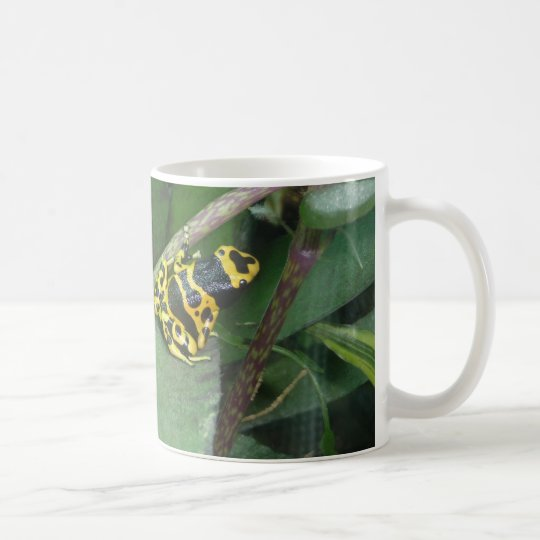 Yellow Poison Dart Arrow Frog Coffee Mug