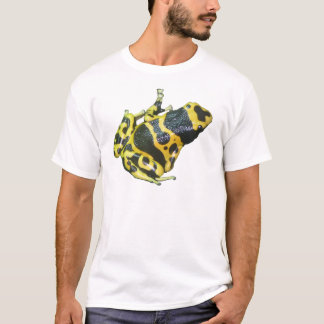 Yellow Poison Dart Arrow Frog isolated T-Shirt