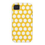 Yellow polka dot iPhone 4/4S case