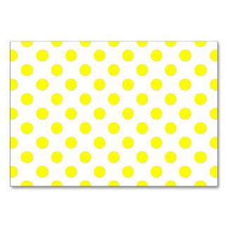 Yellow Polka Dots Card
