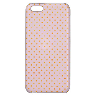 Yellow polka dots iPhone 5C cover