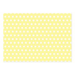 Yellow polka dots pattern. Spotty. Large Business Card
