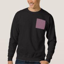 Yellow Polka Dots With Purple Background Sweatshirt