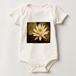 Yellow Pond Lily Baby Bodysuit