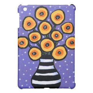 Yellow Poppies Case For The iPad Mini