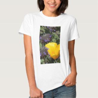 Yellow Poppy Flower Photograph T-Shirt