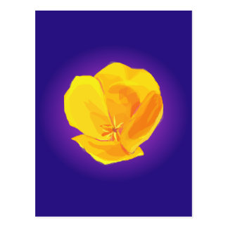 Yellow Poppy Postcard