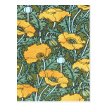 Yellow Poppy Postcards