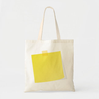 Yellow Post It Note Tote Bag