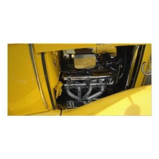 Yellow Power Photo Card