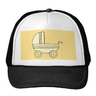 Yellow Pram. Trucker Hat