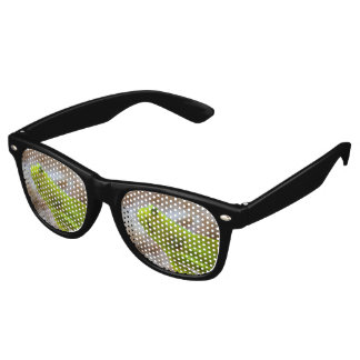 Yellow prawn-goby retro sunglasses