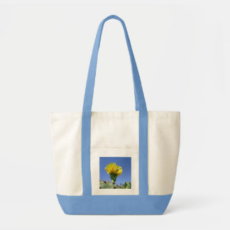 Yellow prickly pear cactus flower bags