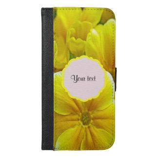Yellow Primroses iPhone 6/6s Plus Wallet Case