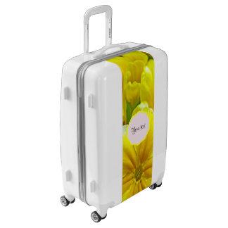 Yellow Primroses Luggage