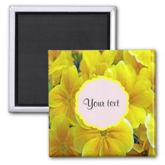 Yellow Primroses Magnet