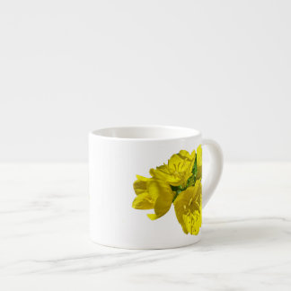 Yellow Primroses - Sundrops Espresso Cup