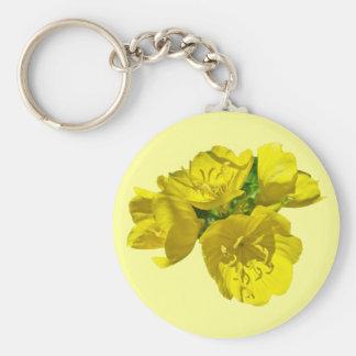 Yellow Primroses - Sundrops Keychain